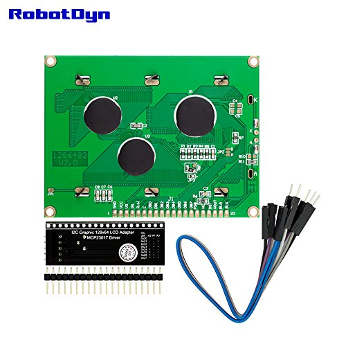 RobotDyn - I2C graphic LCD 128x64 display with I2C interface