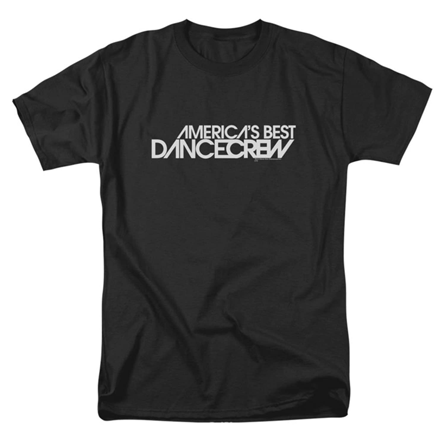 America'S Best Dance Crew - Mens Dance Crew Logo T-Shirt In Black