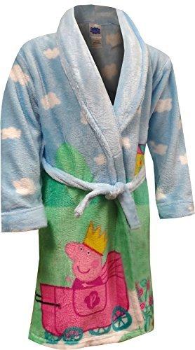 3T Size 3T Pink Toddler Girls Bath Robe Peppa Pig Pink Soft Plush Little Girls Robe