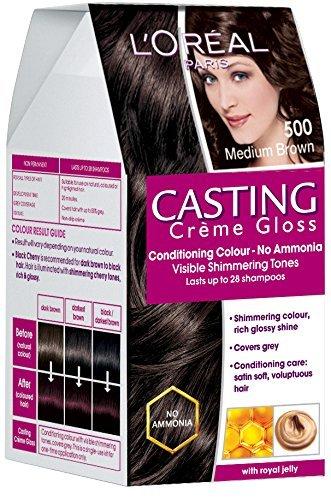 Price comparison product image L'Oreal Paris Casting Creme Gloss, Medium Brown 500, 87.5g+72ml