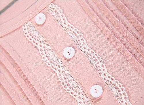 Insun - Pijama - para mujer Rosa