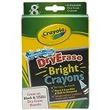 Crayola 98-5202 Dry Erase Crayon, 8 per box
