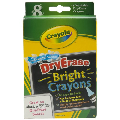Wipe Off Crayons (Crayola; Twistables; Colored Pencils; Art Tools; 18 Count; Vibrant Colors; Great for Adult Coloring)