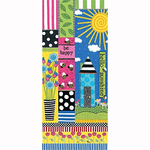 Studio M Frolic Sunshine 3' Art Pole 4x4