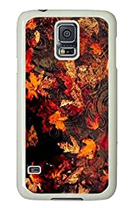 Samsung Galaxy S5 Deciduous PC Custom Samsung Galaxy S5 Case Cover White