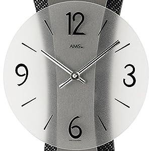 AMS Uhrenfabrik Reloj, Plateado, 43 x 6 x 427 cm 2