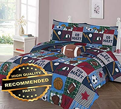 Gatton GO Team GO Comforter Bed Sheet Set Window Panel Valance for Kids Teens Size | Quilt Style QLTR-291267484