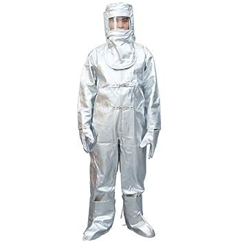 ZXXxxZ Ropa de protección química con Capucha Seguridad de ...