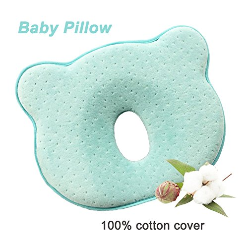 Baby Memory Foam Pillow Soft Toddler Head Shaping Pillow