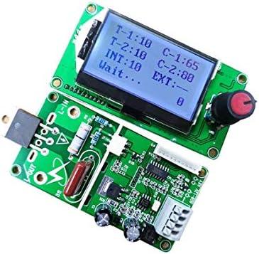 Elegant 40A LCD Display Double Pulse Encoder Module Spot Welder Welding Machine Transformer Controller Board