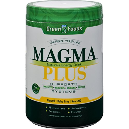 (2Pack! Green Foods Magma Plus Powder - 11)