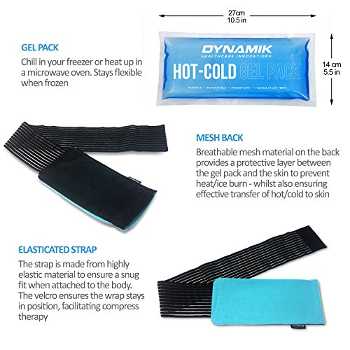 6ad51b76022 Dynamik Products Ice Pack With Strap: Amazon.co.uk: Health & Personal Care