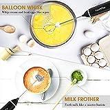 FoodVille MF02 Rechargeable Milk Frother Handheld