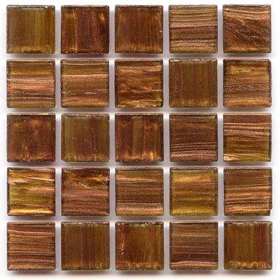 Hakatai 3/4'' Glass Tile - 1 lb bag - P 33 Madrone