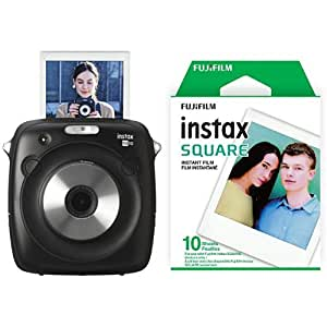 Fujifilm Instax SQ10 Digital Camera with Film Bundle