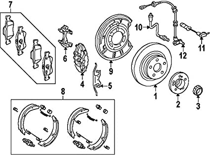 Mercedes Benz Brakes Diagram