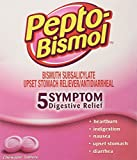 Pepto Bismol Individual Sealed 2 Tablets in a Packet (2 Boxes of 25 Packets) Total 100 Tablets