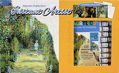 Monet Florals Collection: Acrylic Painting (Instant Artist Deluxe)