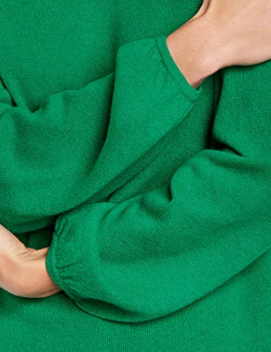 Evergreen Unita Gerry Weber Verde Felpa Tinta Maglione Lunga Manica Donna FqHqSw