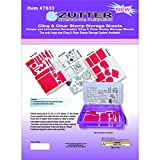Zutter 7633 Cling and Stamp Sheet/Divider, 3-Pack