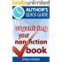 Author's Quick Guide to Organizing Your Non-Fiction Book