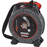 RIDGID 35188 SeeSnake L100C MicroReel Video Inspection Camera with Sonde and Counter, Pipe Inspection Camera and Transmitter (CA-350 Compatible)