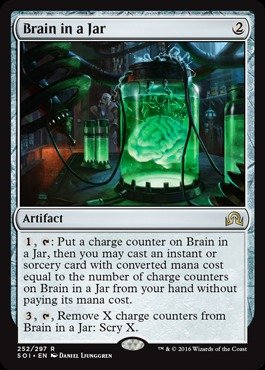 Magic: the Gathering - Brain in a Jar - Shadows Over ...