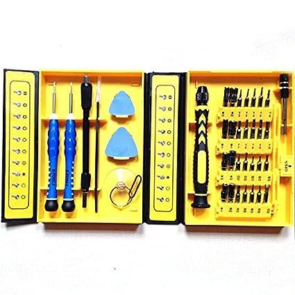 38 en 1 kit de herramientas de reparación de apertura acero CRV  destornillador magnético de precisión 1b215ae0c79e
