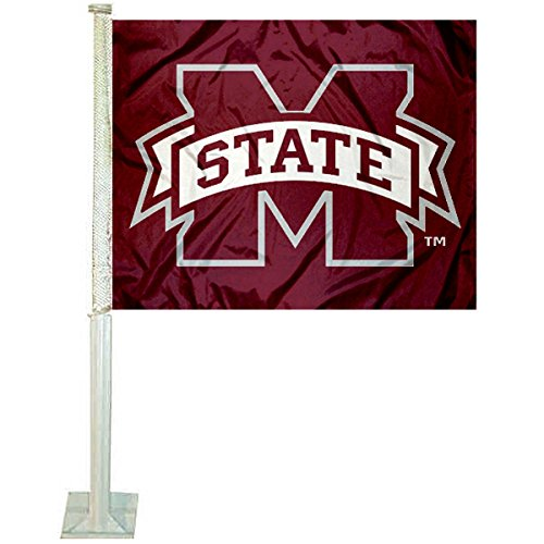 College Flags and Banners Co. Mississippi State Bulldogs Car -