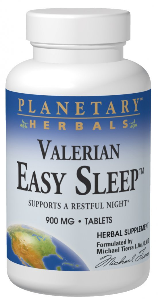 Planetary Formulas Valerian Easy Sleep, 900 mg, Tablets, 120 tablets
