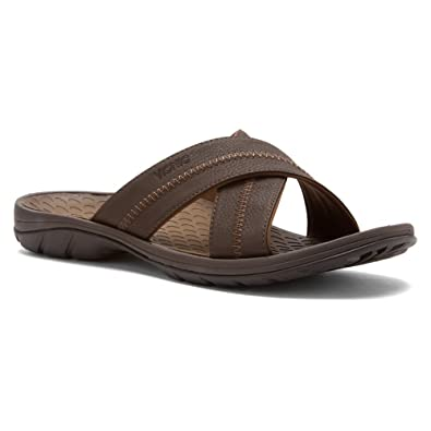 a45a1cc2bfbb Orthaheel Men s Fashion Sandals Brown Size  M  Amazon.co.uk  Shoes   Bags