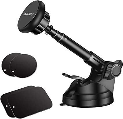 S8 S7 Edge Note 5 Macally Magnetic Dashboard//Windshield Suction Cup Car Phone Mount Holder with Extendable Telescopic Arm for iPhone Xs XS Max XR X 8 8 TELEMAG 7 7 6s Plus 6 Samsung Galaxy S9 S9