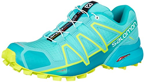 Amazon.com | Salomon Speedcross 4 Womens Trail Running Shoes - Blue-6 | Shoes