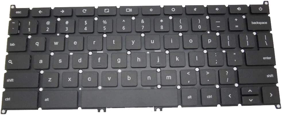 GAOCHENG Laptop Keyboard for Acer Chromebook C740 NSK-RA0SQ 01 AEZHNU00010 9Z.NB0SQ.001 NK.I1117.025 United States US Without Frame