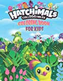Hatchimal CollEGGtibles Coloring Book For