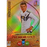 ADRENALYN XL FIFA WORLD CUP 2018 RUSSIA - TONI KROOS PREMIUM GOLD LIMITED EDITION TRADING CARD - GERMANY