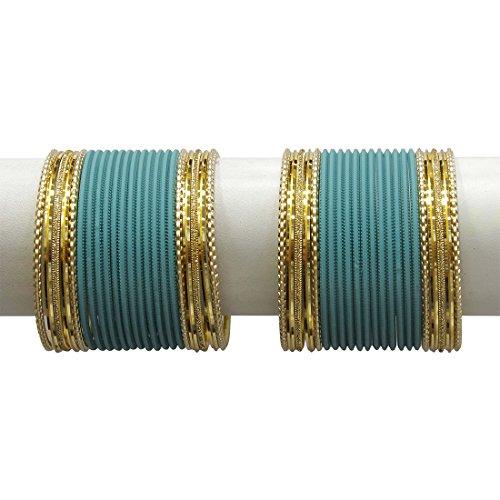 MUCH-MORE Royal Designer Matte Finished Plain Bangles for Women Jewelry (Radium, 2.40) (B0761TTQ2X) Amazon Price History, Amazon Price Tracker