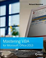 Mastering VBA for Microsoft Office 2013
