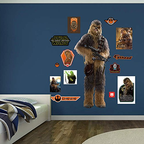 Fathead Chewbacca Star Wars Episode VII Peel and Stick Wall Decals