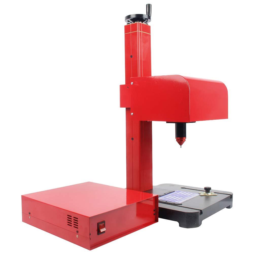 RAAKIMO ネームプレート用刻印機 彫刻機 打刻エリア170*110mm 名入れ/バッジ/マーキング/標識をプリント (横長、パソコン、エアコンプレッサー別売り) B07K8FFM6F 電動(パソコン別売り)  電動(パソコン別売り)