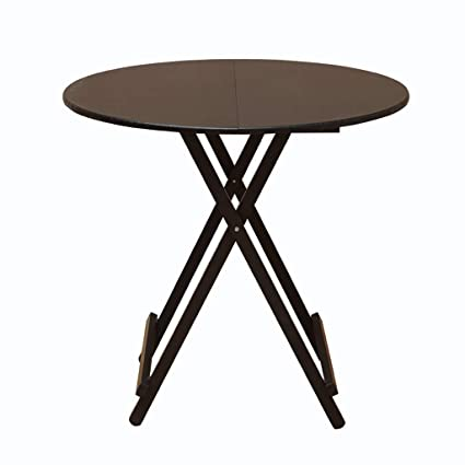 Amazon.com - ZHPRZD Table Folding Table Dining Table Home ...