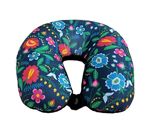 Bookishbunny Classic U Shaped Micro Beads Microbead Neck Travel Pillow Cushion, 12