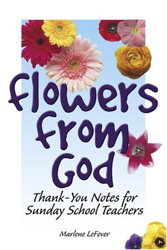 Price comparison product image Flowers from God: Thank-You Notes for Sunday School Teachers