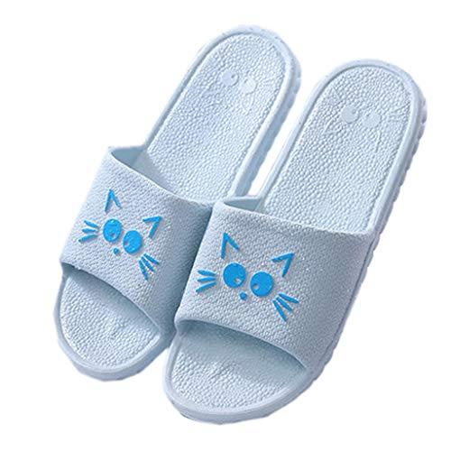 Chaussons Purple 35 pour AMINSHAP 36EU Pantoufles en Bleu antidérapantes Couleur Femmes Plastique Taille 1C81vrqnwx