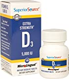 Superior Source Vitamin D3 Extra Strength 5,000 IU 100 For Sale