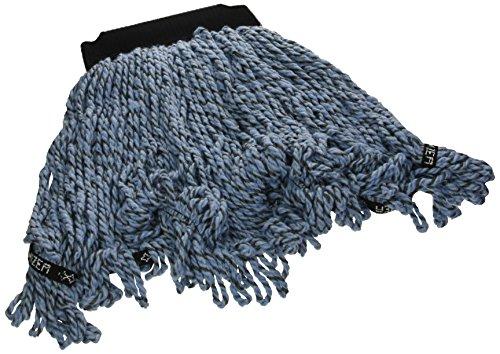 Microfiber Blend - Rubbermaid Commercial 1924813 Maximizer Mop Head, Microfiber Blend, Medium, Blue