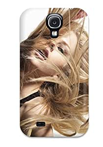 Protective Tpu Case With Fashion Design For Galaxy S4 (avril Lavigne 52)