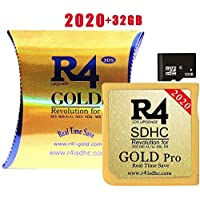 The Gold (gold pro) SDHC Card With 32 GB SD Card for DS/DS Lite/DSi/DSi XL/3DS/2DS - installed Kernel Already
