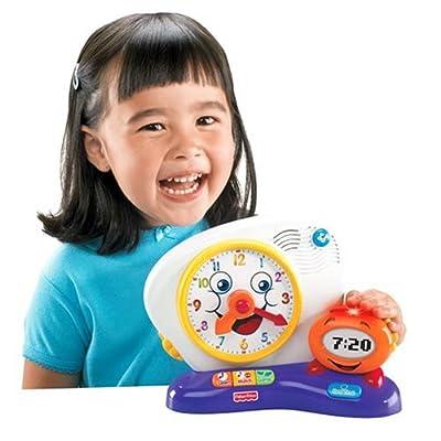 Fisher-Price Fun-2-Learn Teaching Clock: Toys & Games