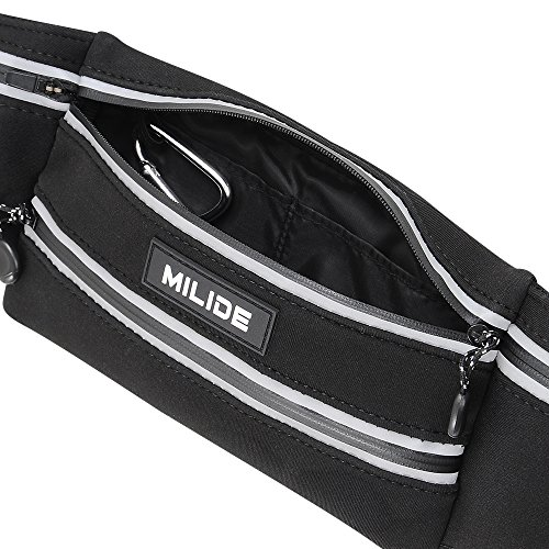 Milide Running Belt Waist Pack For Iphone X 8 7 Plus With
